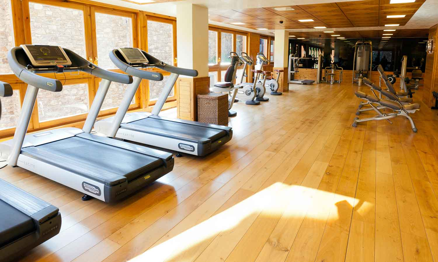 Hermitage Mountain Residences Sport Wellness Mountain Spa Gym