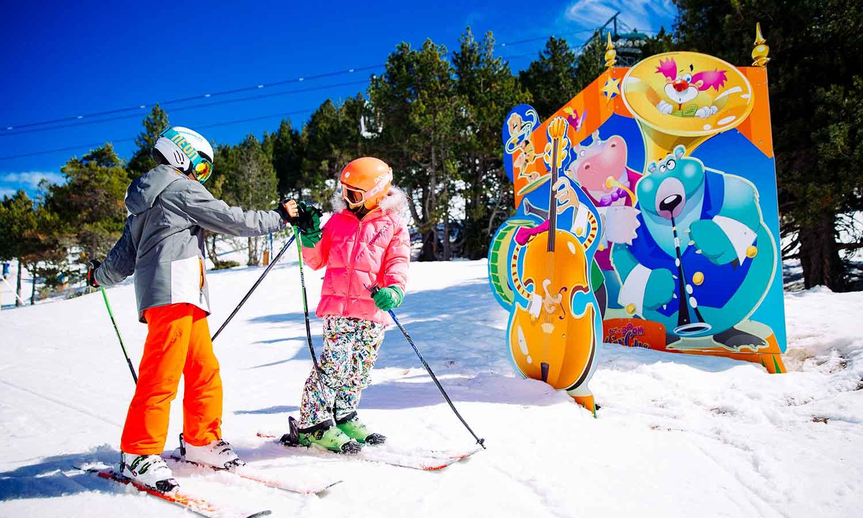 Hermitage Mountain Residences activitat per nens a Grandvalira