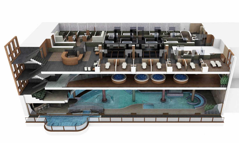 Hermitage Mountain Residences Sport Wellness Mountain Spa Растения 1 массажные кабины и косметические процедуры в Андорре