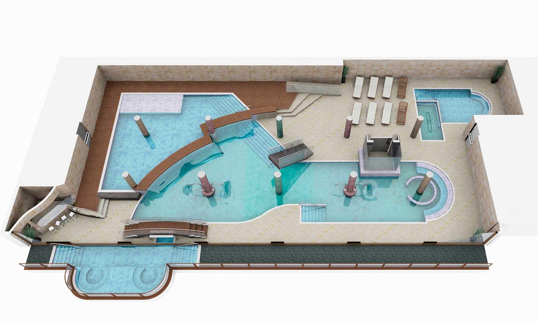 Горнолыжные курорты Эрмитажа Спорт Wellness Mountain Spa 4-й этаж