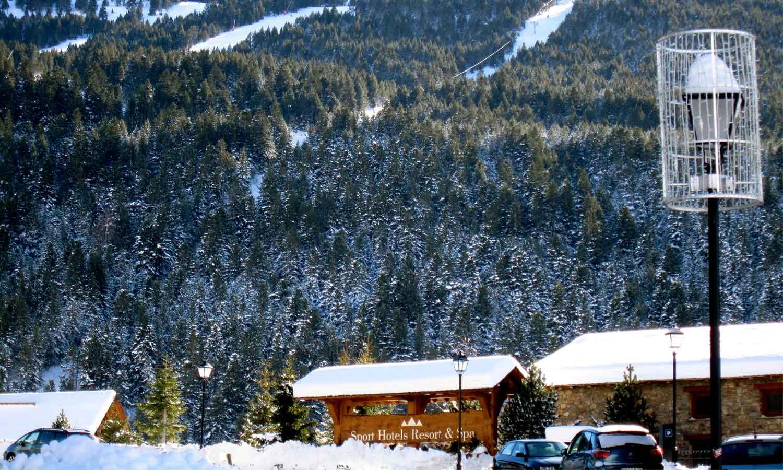 Hermitage Mountain Residences entorn Sport Hotels Resort Spa Soldeu