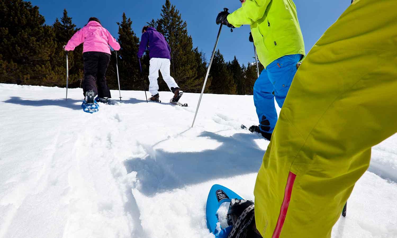 Hermitage Mountain Residences passeigs amb raquetes de neu per Grandvalira