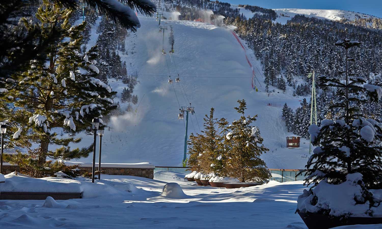 Hermitage Mountain Residences pista Avet Grandvalira esqui