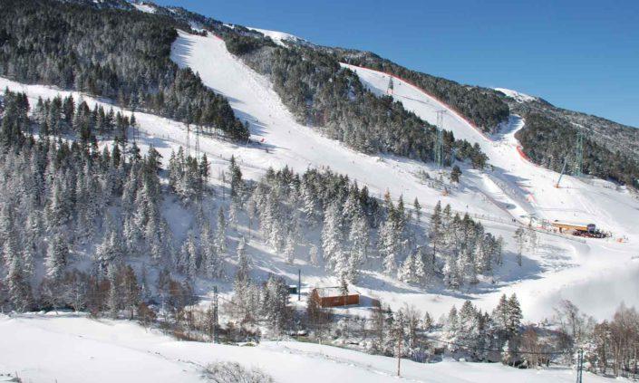 Pistas de Esqui de la Estación de Grandvalira en Soldeu