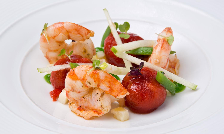 Hermitage Mountain Residences Andorre Origine Restaurant Nandu Jubany Michelin Star Cuisine catalane d'auteur