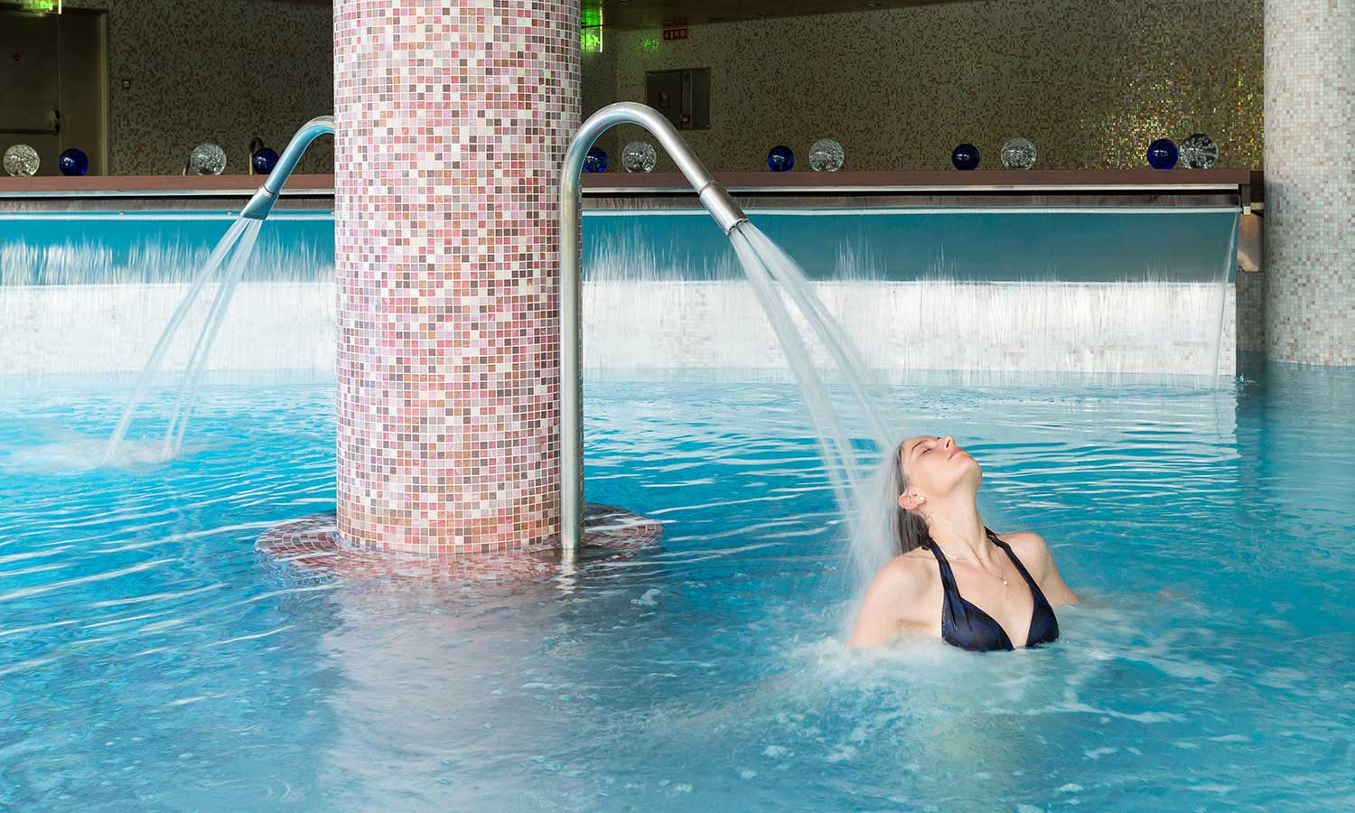 Hermitage Mountain Residences Sport Wellness Mountain Spa circuit d'eau