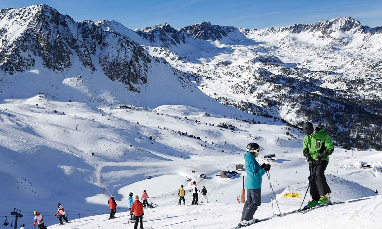 Hermitage Mountain Residences ski à Grandvalira