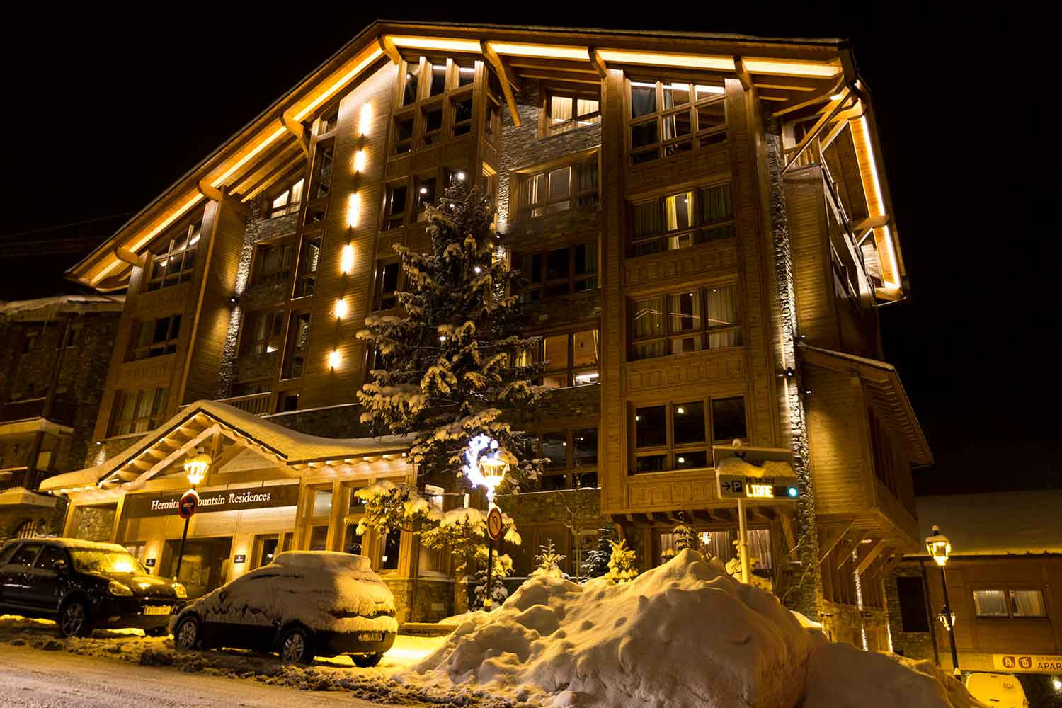 Hermitage Mountain Residences | Alojamientos de Lujo en Soldeu The Leading Hotels of the World