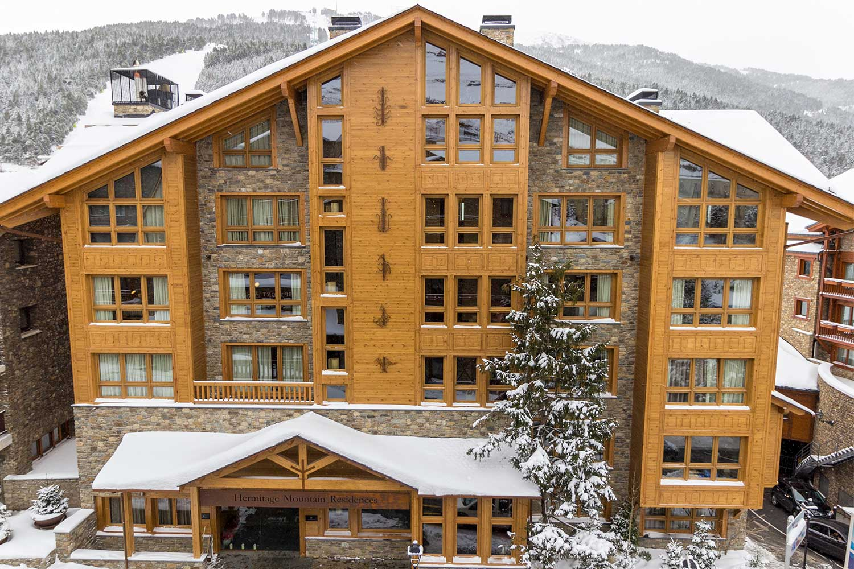Hermitage Mountain Residences | Residencias de Lujo en Soldeu con Spa