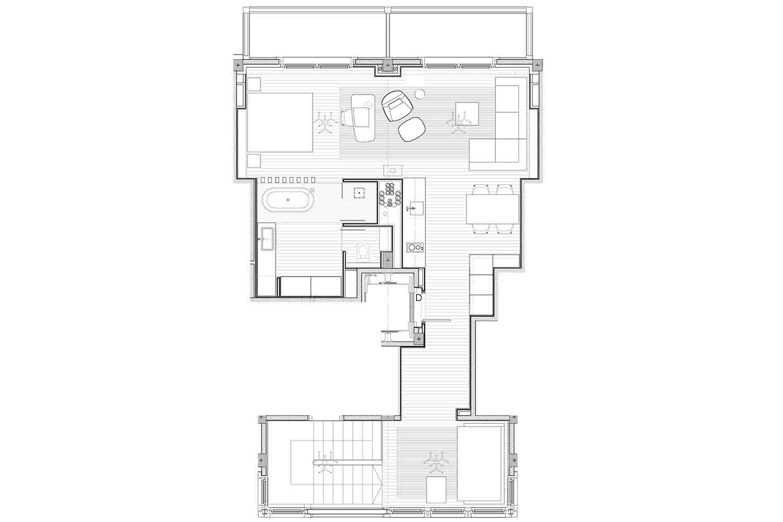 Hermitage Mountain Residences | Residencia Exclusiva Ático La Prada 120 m2