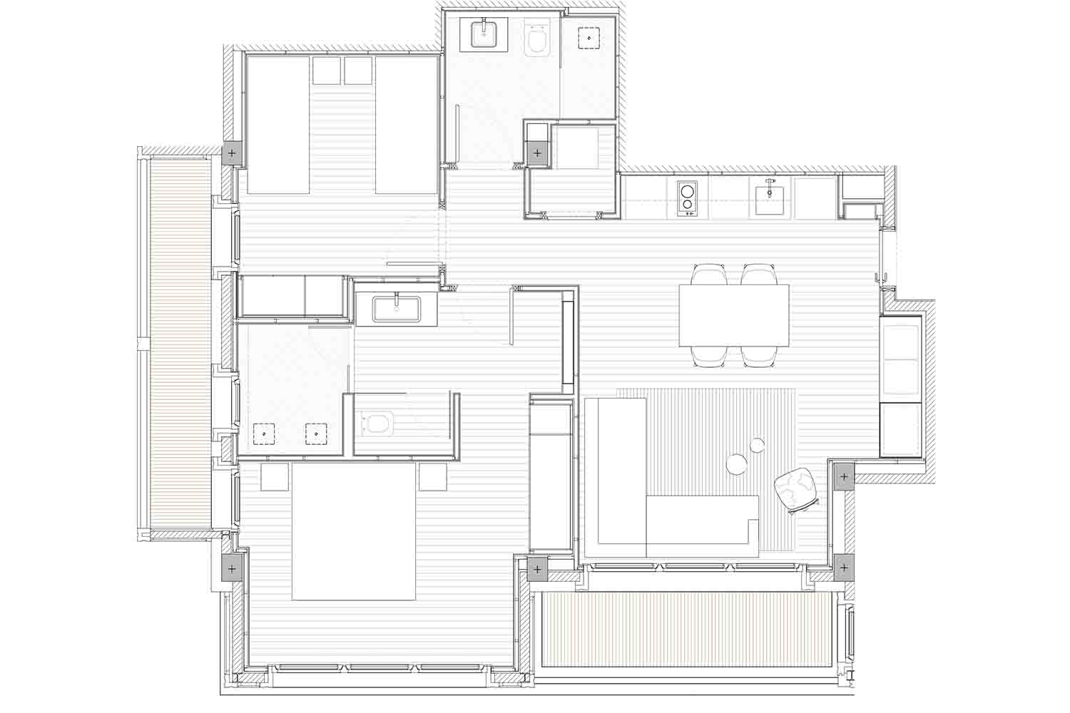 Hermitage Mountain Residences | Residencia Exclusiva Comellot 120 m2
