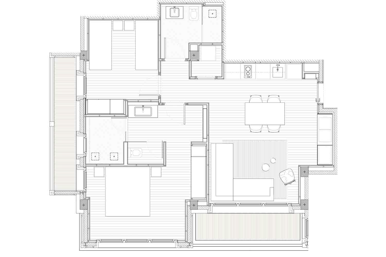 Hermitage Mountain Residences | Residencia Exclusiva Comellot 120 m2