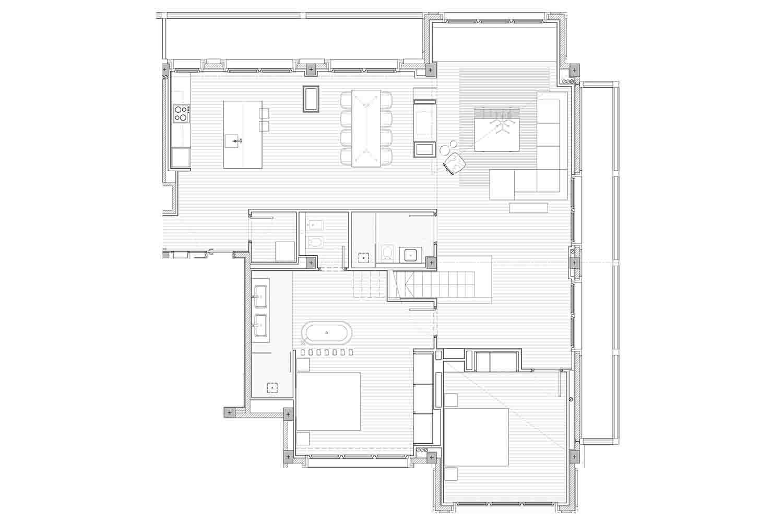 Hermitage Mountain Residences | Residencia Exclusiva Duplex Les Planelles Planta Baja 250m2